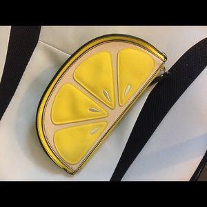 New Look lemon shape clutch 🍋🍋🍋🍋